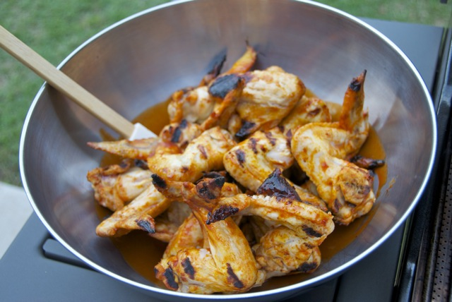 how to make buffalo wings on the grill