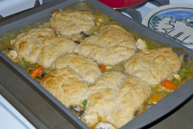 I Was Craving Something Along The Lines Of Chicken Pot Pie My Old Roommate Laura Used To Make A Biscuit Topped Veggie Pot Pie That Was Awesome