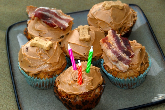 peanut butter cupcakes for dogs