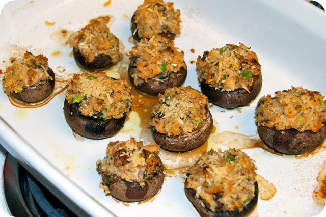 Portobello Mushrooms With Parmesan-Herb Stuffing Recipes — Dishmaps