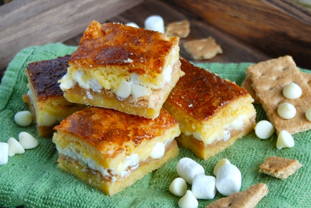 cake bars gooey white chocolate fluffernutter cake bars gooey white ...