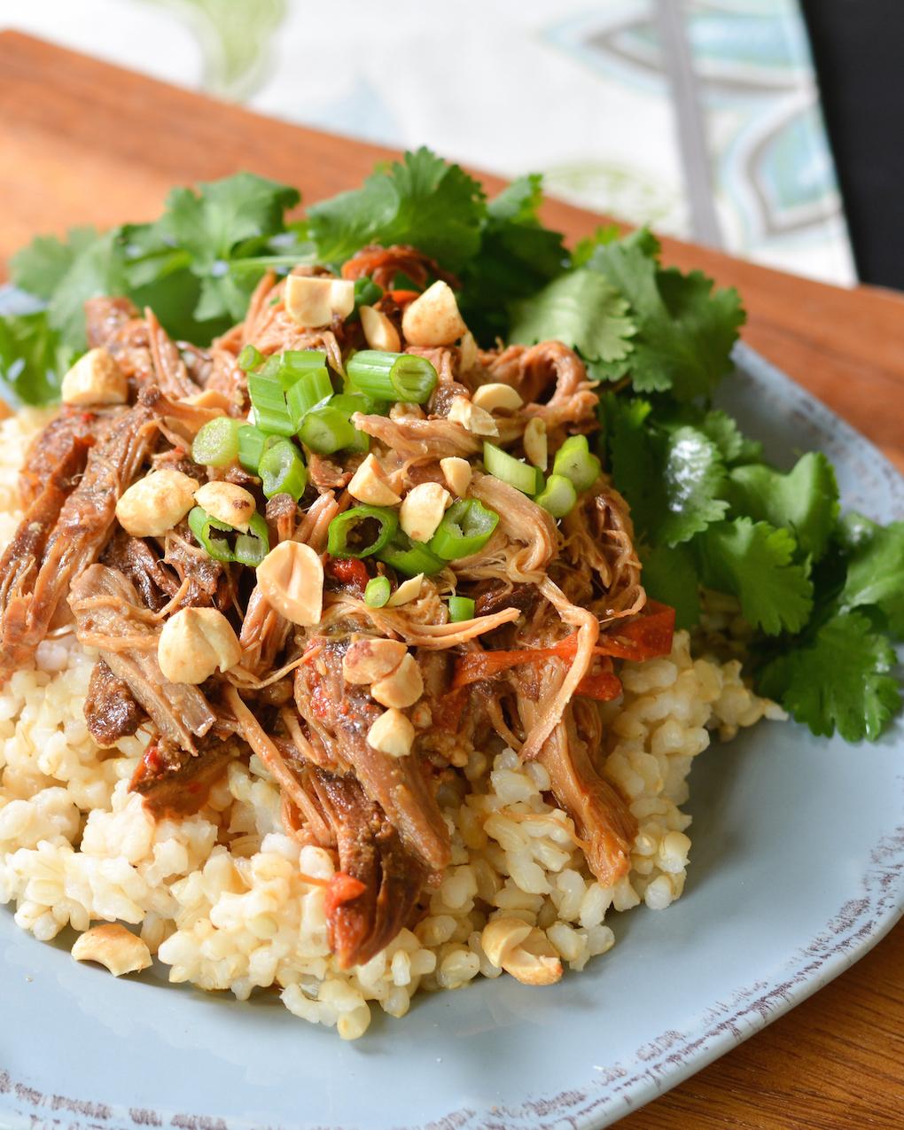 Asian peanut chicken crock pot recipes