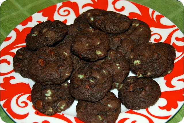 Minty Chocolate Christmas Cookie Recipes — Dishmaps