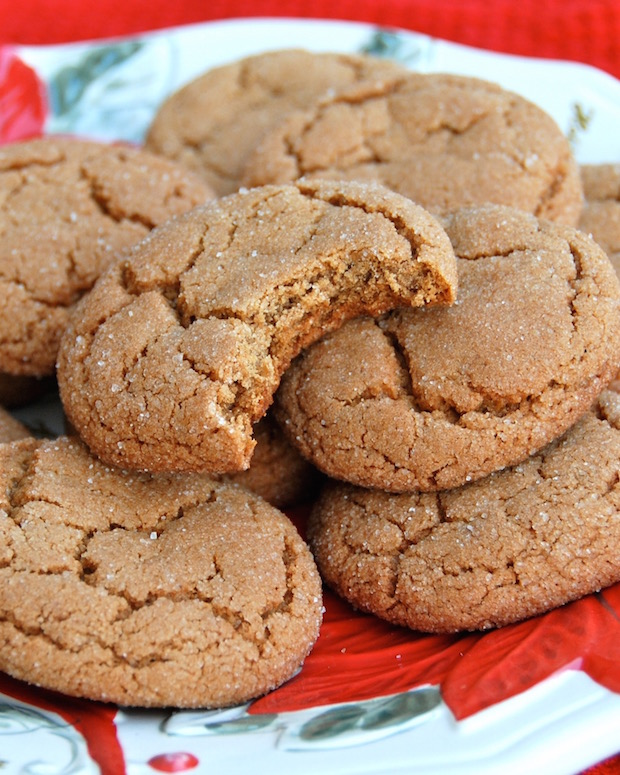 12 Days Of Christmas Cookies Ginger Molasses Cookies