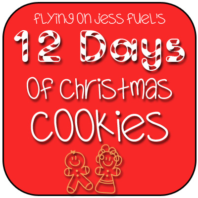 Flying on Jess Fuel's 12 Days of Christmas Cookies!