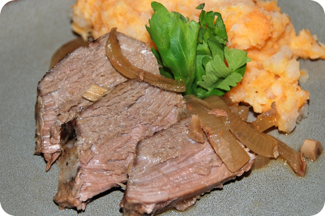 Crock Pot Venison Roast