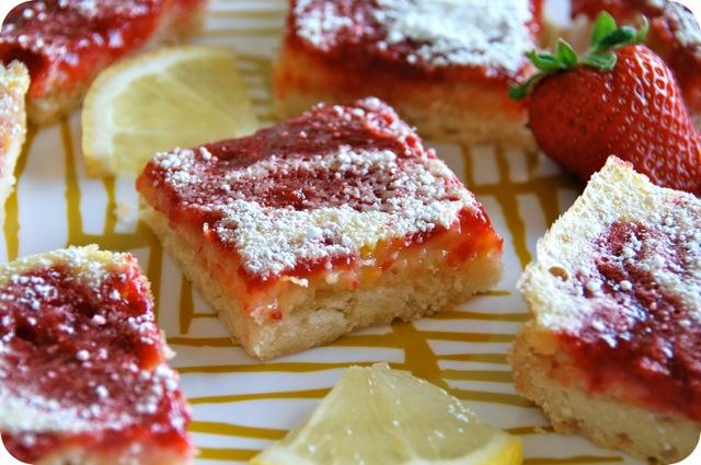 ... strawberry lemonade strawberry lemon bars by strawberry lemon bars