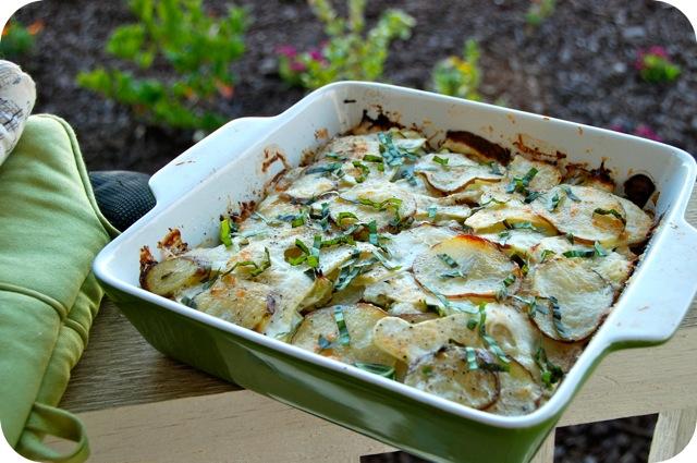 Potato, Squash, And Goat Cheese Gratin Recipes — Dishmaps