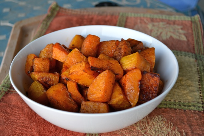 Cinnamon Roasted Butternut Squash | Flying on Jess Fuel