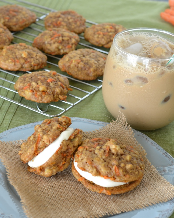 Carrot Cake Whoopie Pies | Flying on Jess Fuel