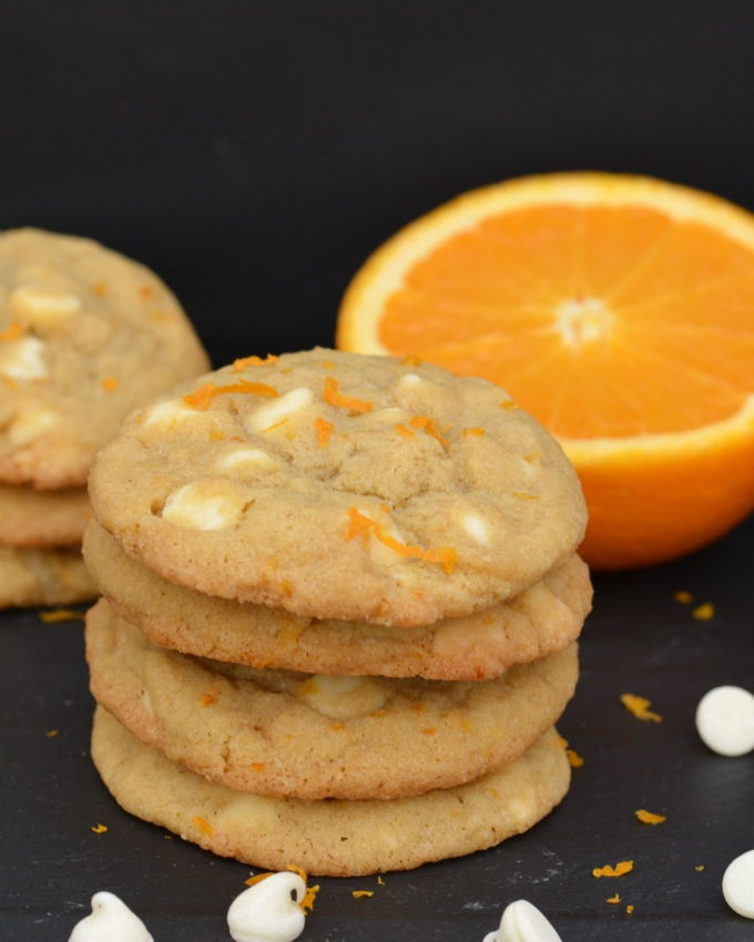 Orange Creamsicle Cookies | Flying on Jess Fuel